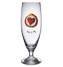 Friendship You And Me Ölglas 50 cl