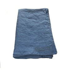 Lovely linen hamam handduk – Denim blue