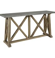 Elmwood zink Konsolipöytä