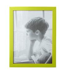 Fotoramme - PP - Glas - Lime - L 24,0cm - B 18,0cm - Stk.