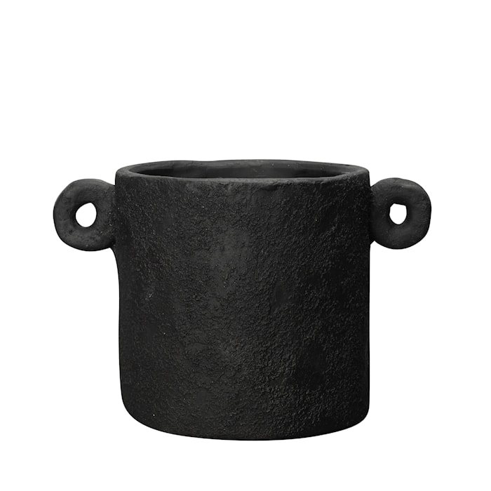 Charcoal Kruka Svart 20cm