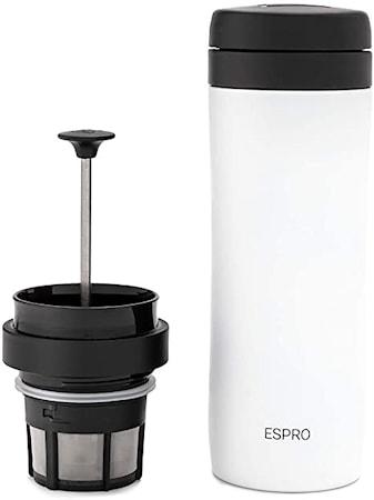 Espro Travel Kaffepress Vit 40 cl