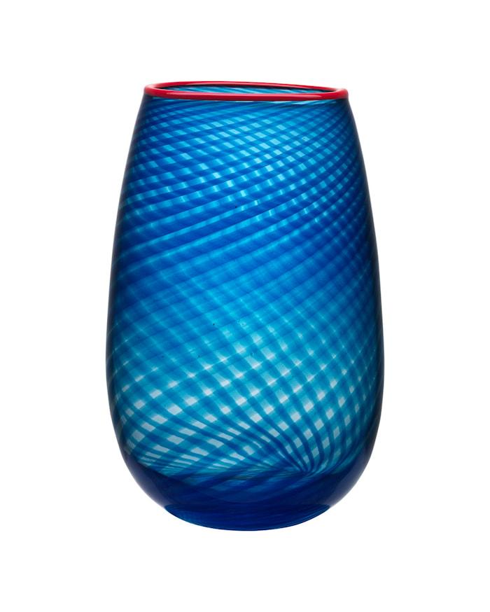 Red Rim Vase 33 cm