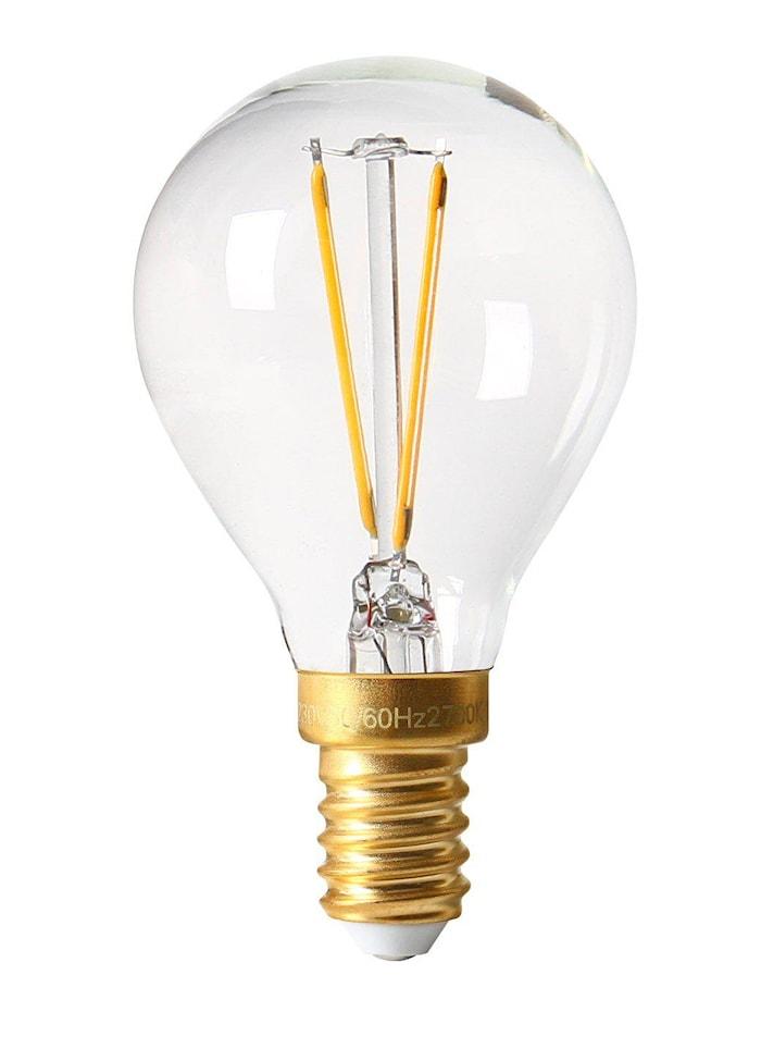 Vintage LED Filament Bulb Clear E14