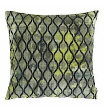 Portofino Putetrekk 45x45 - Grønn mønster