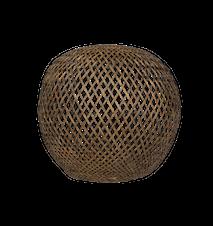 Nature Lampskärm Rund Bambu XL