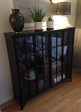 Downtown iron cabinet - Black