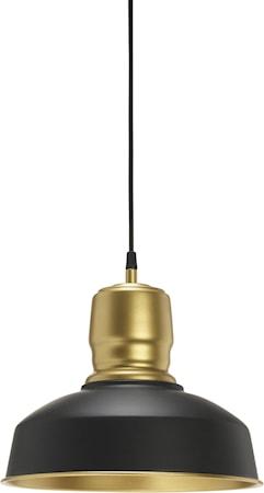 Paddington Taklampa MattSvart/Guld 31cm