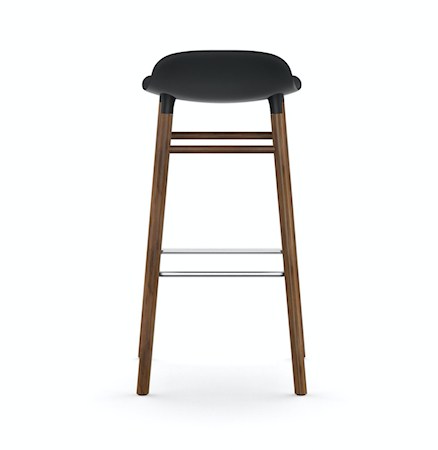 Form Barstol Vit/Valnöt 75 cm