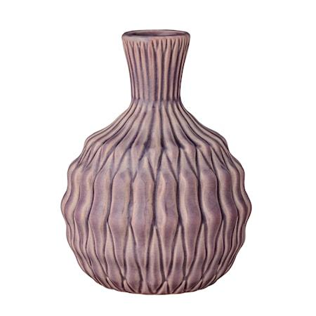 Vase Blå Stentøj 15x20cm