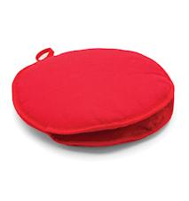 Tortillavarmer 28 cm Rød