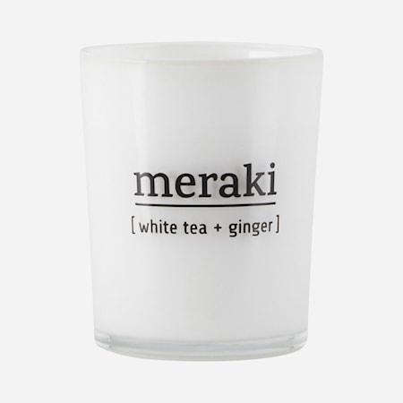 Duftlys White tea & ginger 7 cm