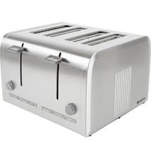 Toaster 4 Scheiben Rostfreies Stahl