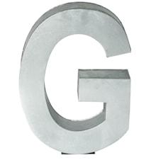 Metallvetica bokstav - G