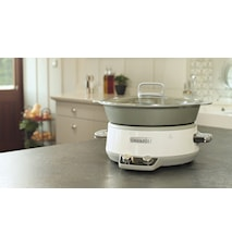 Slowcooker 6,0l DuraCeramic, timer