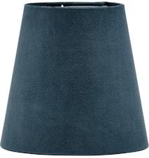 Lampeskærm Queen Fløjl Blå