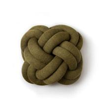 Knot Cushion Green