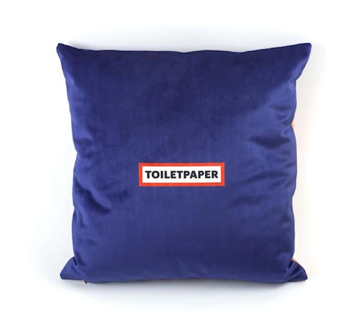 Cushion 'Toiletpaper' 50x50 - Lipsticks