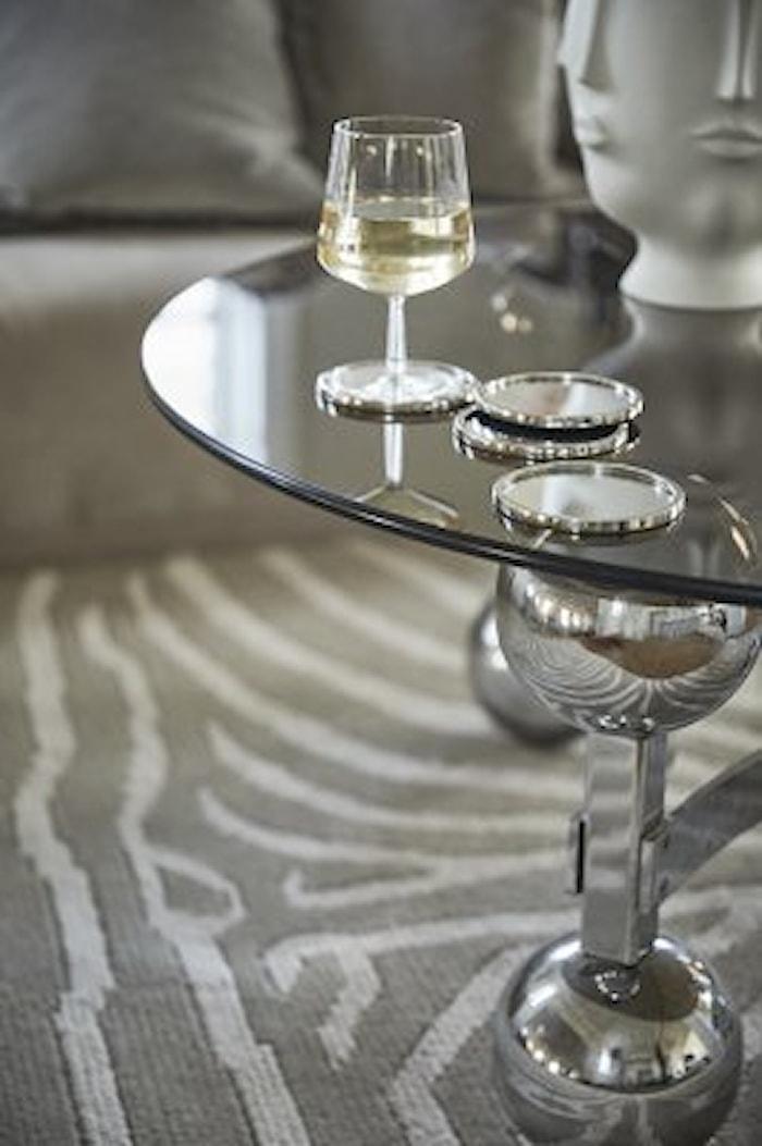 Tapis beige/blanc 200x300 cm Zebra