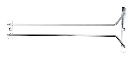 Glasshenger 1 spor Krom