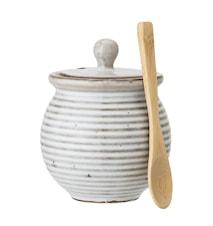 Leon Jar w/Lid & Spoon