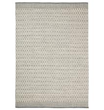 Mahi Matta Ull Off White/Grå 170x240 cm