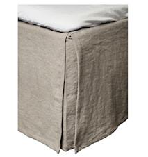 Mira loose fit sengekappe – Stone, 120x220x42