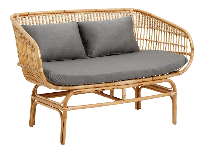 Sofa i Rotting 81x68x138 cm - Natur