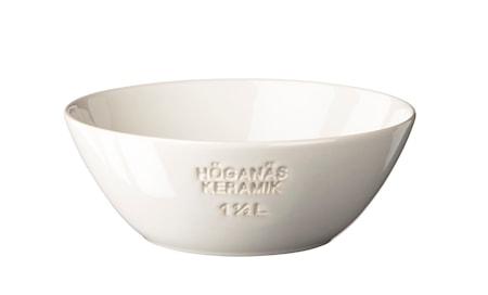 HK Skål 1,5 L hvid blank