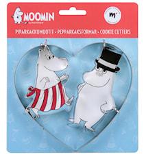 Mumin Ömhet Pepparkaksformar 3-pack