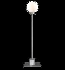Snowball bordlampe - Stål