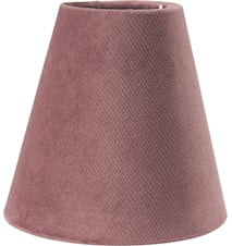 Toppringskärm E14 Studio Rosa 15cm