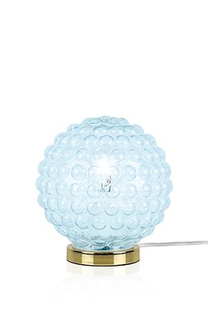 Bordslampa Spring Ljusblå/Mässing