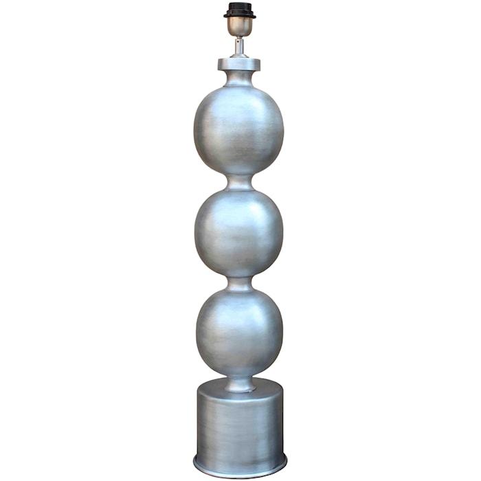 Lampfot Arley Silver