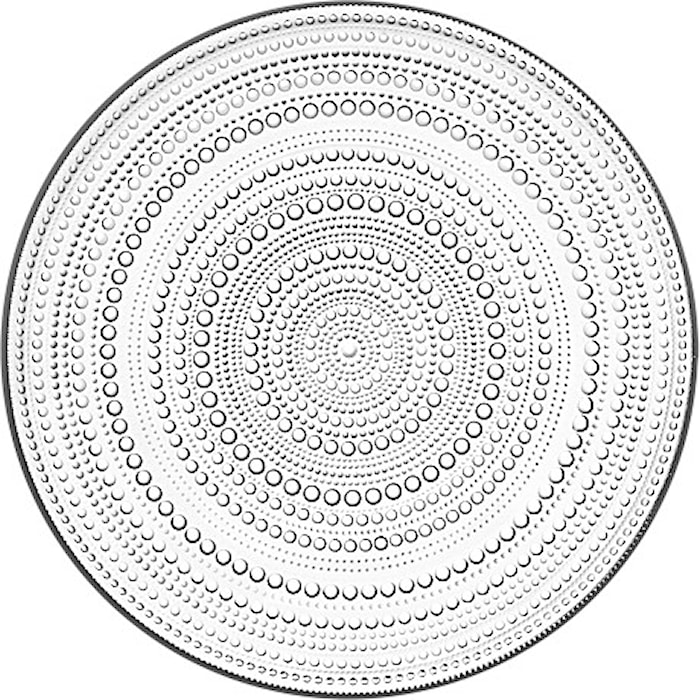 Kastehelmi Plate 315 mm Clear