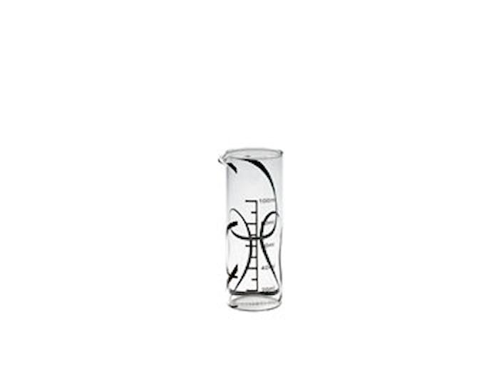 Målekande 12 cm Ø4,6 cm glas B