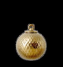 Rhombe Dekorasjonskule Gull Ø7 cm