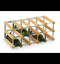 15 pullon Koottava viiniteline, vaalea