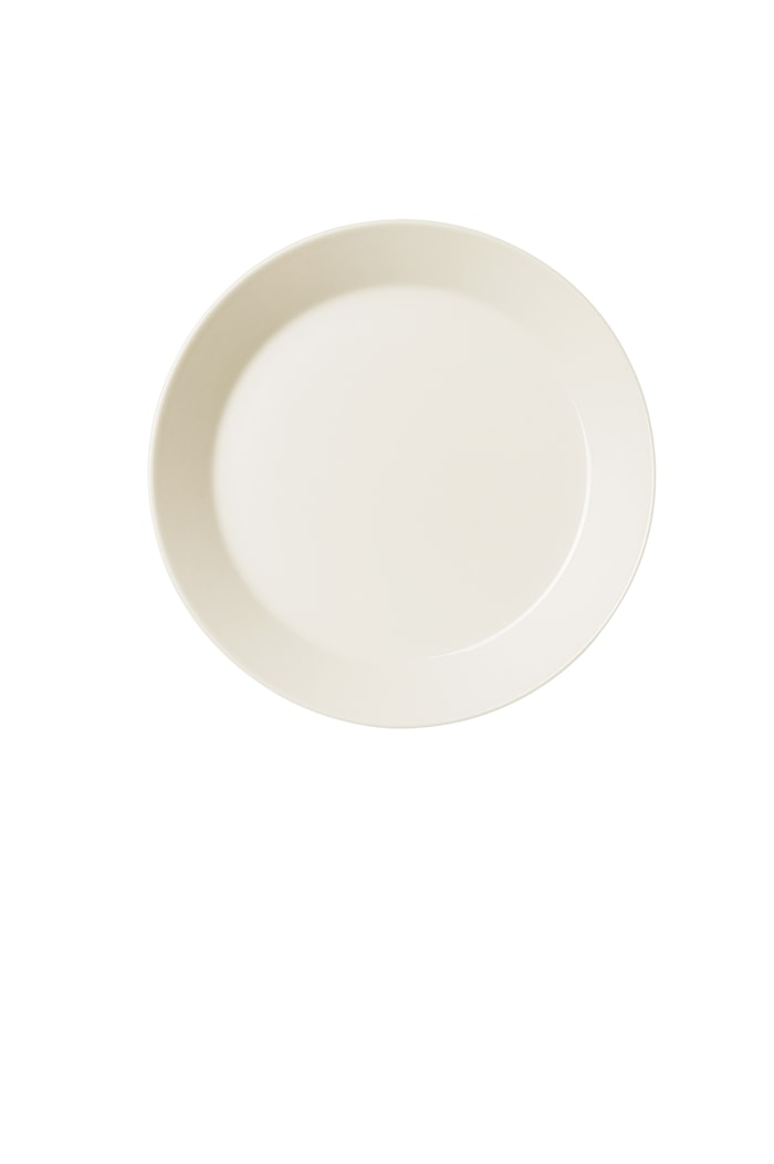 Teema Lautanen 21 cm, Valkoinen