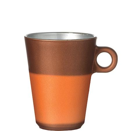 Muki Latte Macchiato Ruskea