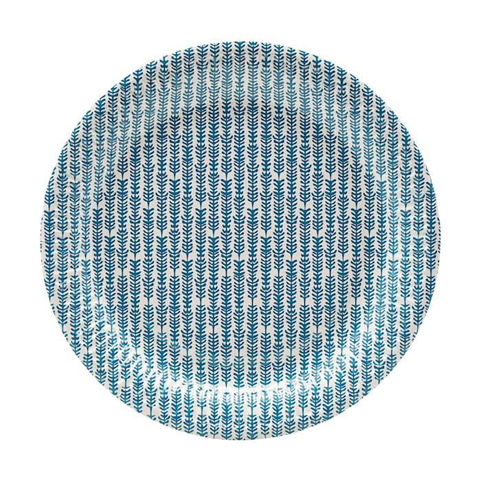 Papperstallrikar 12 st Blå