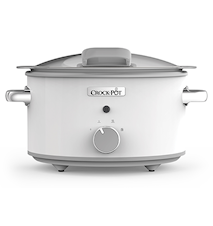 Slowcooker 4,5L DuraCeramic Manueel Wit