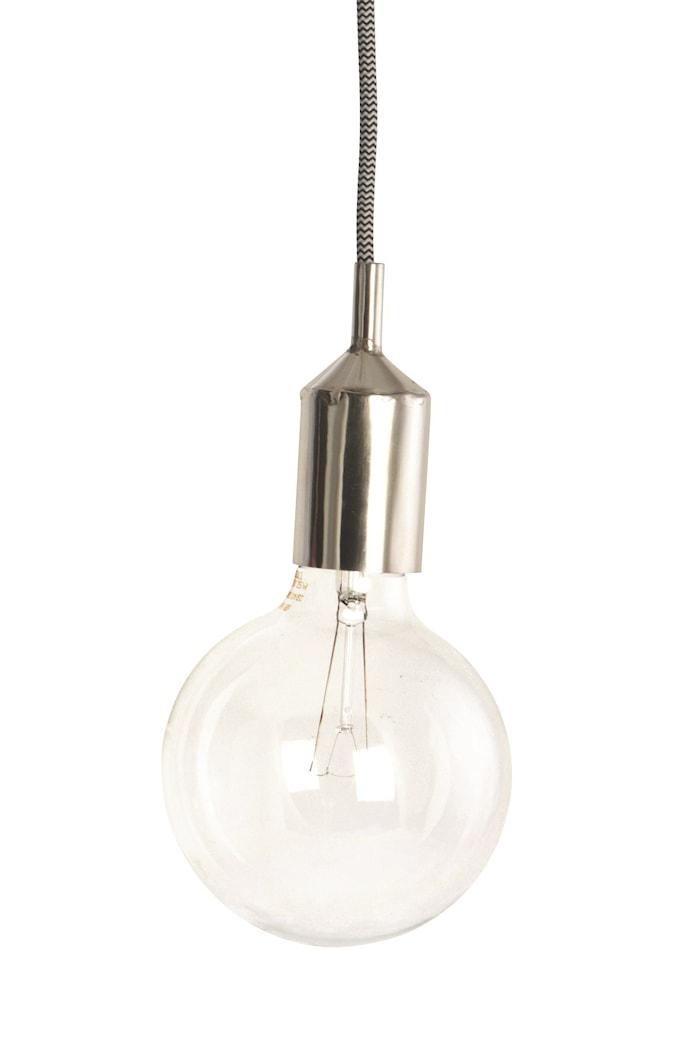 Lamphylsa E27 Ø 4,5x11 cm - Silver