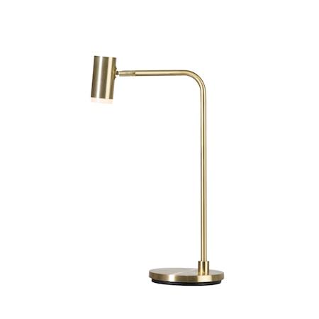 Cato Q Bordslampa Mässing LED 56 cm