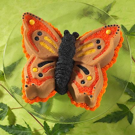 Kageform Sommerfugl