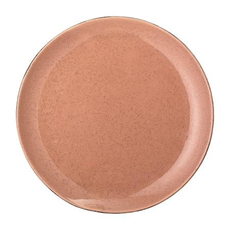 Sienna Plate, Orange, Stoneware