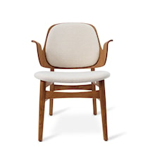 Gesture Lounge Chair B Cream Teak