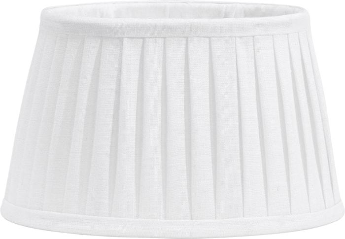 Indi Lampeskjerm Plissé White 30 cm