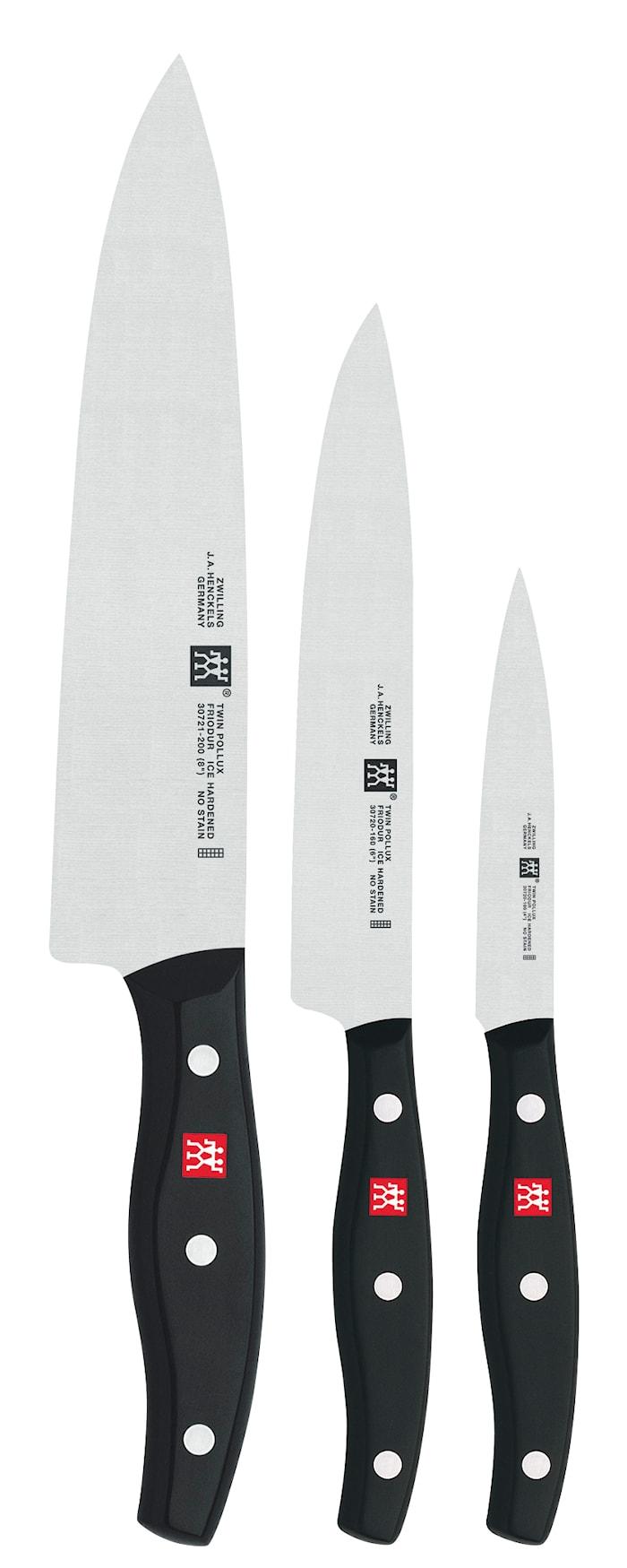 TWIN® Pollux Knivset 3 Knivar