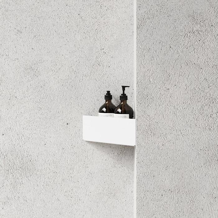 Badrumshylla Bath Shelf Corner Vit